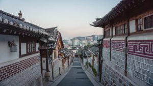Traditional Korean street