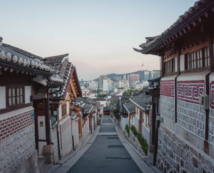 Traditional Korean street