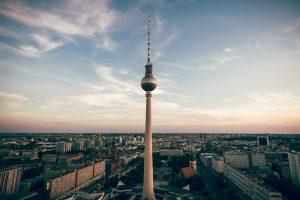 german vegan travel phrases and illustrations