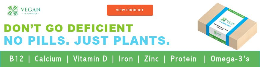 vegan nutrition and health supplements made from plants by vegan health pack