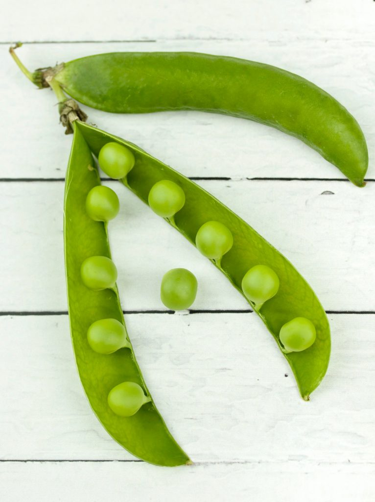 keep your gut healthy with peas