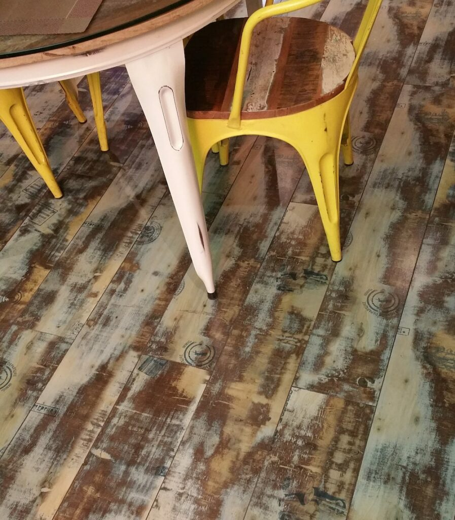 Sustainable Ways to Decorate Your Home with recycled flooring