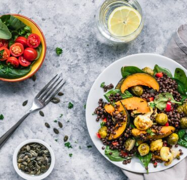 platewell plant-based dish made by plant-based chefs online cooking class