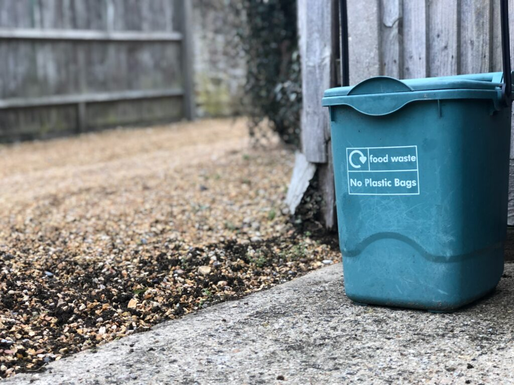 food waste bin is one way to improve compost