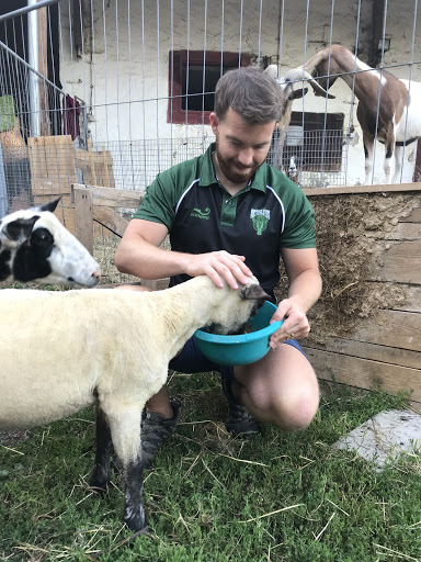brendon bale the founder of green gazelles vegan rugby club
