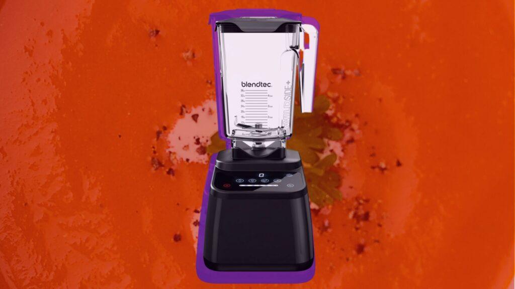 blend tec blender for vegan soups and sauces