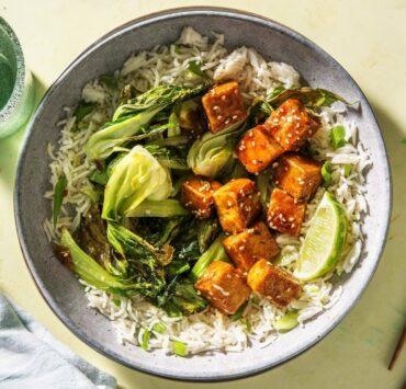 tofu rish dish by hello fresh