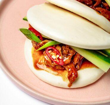 vegan bao buns by beetbox