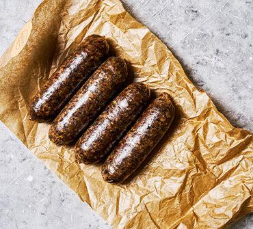 vegan sausages by dishoom